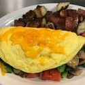Create your own Omelette - <p>Start with 3 XL eggs and add your choice of 3 items.  Includes toast &amp; a side dish</p>